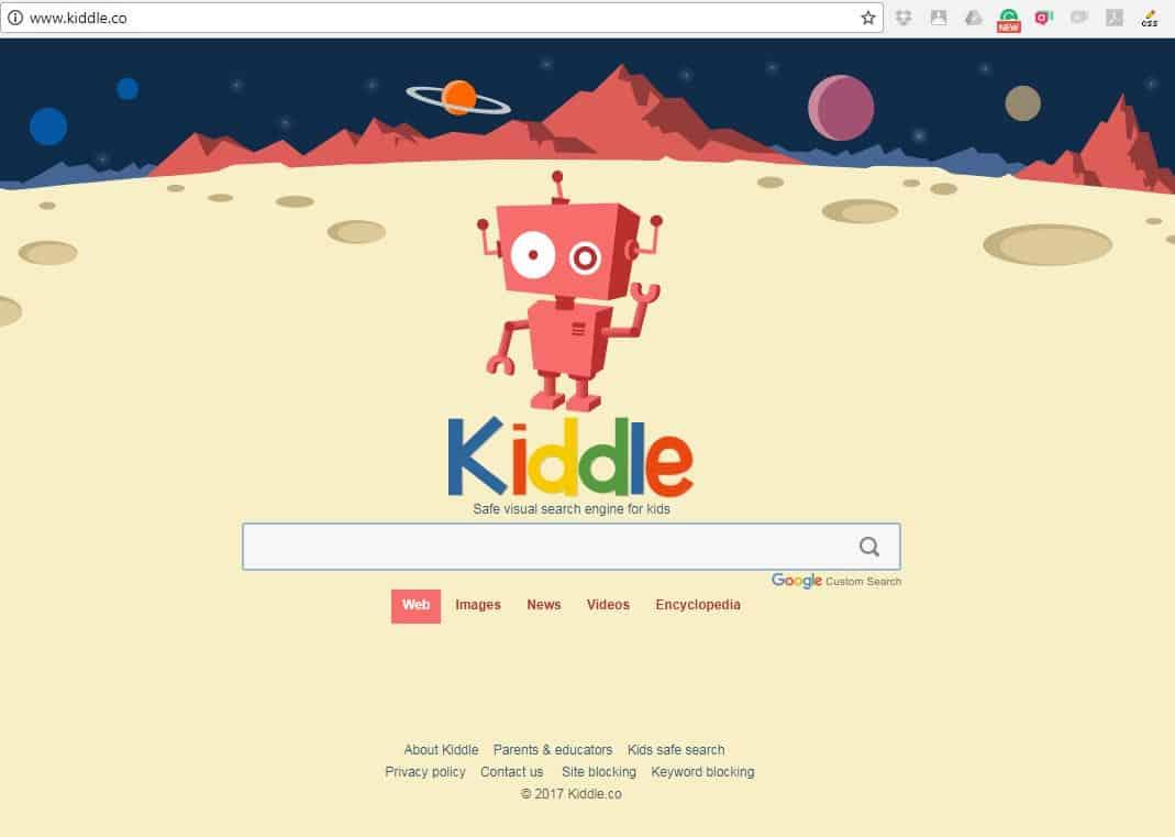 امنیت اینترنت برای کودک