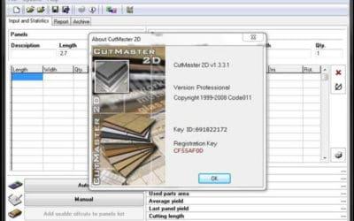 بهینهسازی برش دو بعدی با نرمافزار کاتمستر CutMaster2D