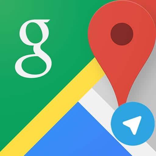 ارسال مکان در تلگرام با کمک گوگلمپ